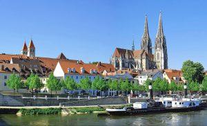 Plaatsen langs de Donau